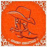 Cowboy Boot And Hat For Design - Download From Over 57 Million High Quality Stock Photos, Images, Vectors. Sign up for FREE today. Image: 28284557