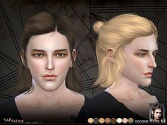 This hair style has 15 kinds of color  Found in TSR Category 'Sims 4 Male Hairstyles'