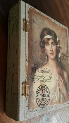 Decoupage Book Box