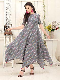 Girls Frock Design, Long Dress Design, Dress Neck Designs, Kurti Neck Designs, Kurta Designs Women, Stylish Dress Designs, Designs For Dresses, Designer Party Wear Dresses, Kurti Designs Party Wear