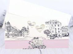 Invitatie de nunta Just Married | Invitatii de nunta - Moderne