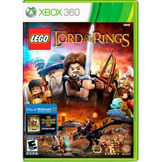 Lego Lord of the Rings w/ Wal-Mart Exclusive Bonus The Fellowship of the Ring Blu-Ray (Xbox 360)