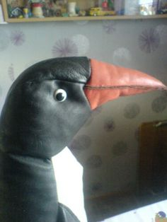 Âge Grand Design pingouin en cuir | eBay Moleskine, Alter, Parrot, Vintage, Design, Animals, Ebay, Leather, Parrot Bird