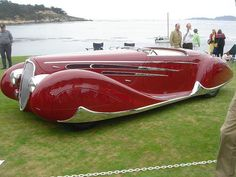 1939 Delahaye 165 V-12 with coachwork by Figoni et Falaschi