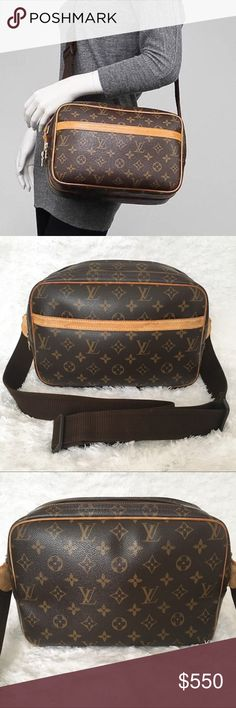 AUTH Louis Vuitton Reporter PM Authentic Louis Vuitton Reporter PM (SP2009). Preloved condition so minor scuffs, scratches may be present. Equipped with 4 pockets. Still holds shape very well! Interior very clean! Unisex. Suitable for men and women. Great messenger bag! Please review photos carefully. NO TRADES. PRICE FIRM. Louis Vuitton Bags
