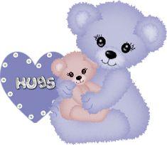 Animated Glitter Graphics Hugs | Graphics » Kisses hugs Graphics