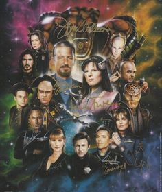 Stand up for your fandom! Babylon 5, Classic Sci Fi, Popular Culture, Larry, Futuristic, Science Fiction, Fantasy Art, Blogging, It Cast