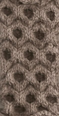 Textiles Surfaces - dimensional knitted structure  tessellating surface  pattern close up  structured knits Loom 2673fb59c8