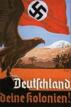 """-"""" Allemagne, tes colonies !"""". -"""" Germany, your colonies !""""."""