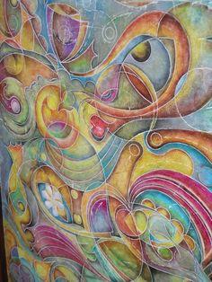 """....expresión mural,..."""" Interconexión-natura """""""