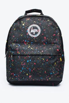 Hype Backpack - various styles.  Double Zipped Main Compartment. Front Zipped Pocket. Adjustable padded Shoulder Straps. Top Carry Grab Handle. Padded Back Wipe Clean Surface ....