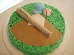 Baseball Cake - www.allthatfrost.com