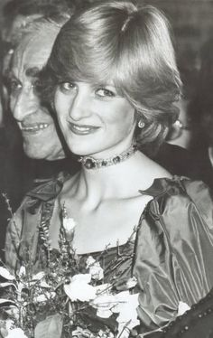 October 26, 1982: Princess Diana accompanied Prince Charles to a concert given as a belated wedding gift by Russian cellist Mstislav Rostropovich at the Barbican Arts Centre, London.