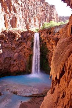 Mooney Falls, Havasupai, Arizona