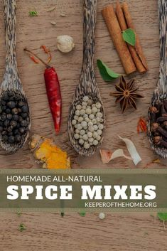 It's not hard to make homemade spice mixes.in fact, it's easy AND it s. It's not hard to make homemade spice mixes.in fact, it's easy AND it saves you money AND it's better for you. Check out these recipes and instructions! Homemade Spice Blends, Homemade Spices, Homemade Seasonings, Spice Mixes, Whole Food Recipes, Cooking Recipes, Cooking Tips, Smoker Recipes, Rib Recipes