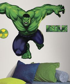 Take a look at the Hulk Peel & Stick Giant Decal on #zulily today!
