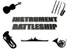 Elementary Music Methods: Instruments of the Orchestra Game - Battleship! Looks easy to make and SO FUN for the kids! Perfect for a centers activity in the classroom.
