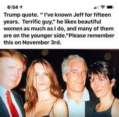 Jeffrey Epstein? Trump Quotes, Evil Empire, Political Quotes, Shit Happens, Donald Trumph, Tiny Trump, Trump Melania, Anti Christ, Alien Skull