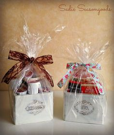 From Thrift to Gift: Coffee & Tea Gift Boxes