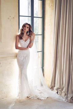 14 Best Harlow Dress images | Anna campbell bridal, Anna