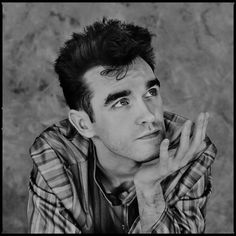 Morrissey (1983) ― photo by Chalkie Davies.