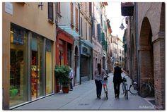 Ferrara, Italy http://www.aliadventures.com/2013/08/a-walk-through-ferrara-italy/
