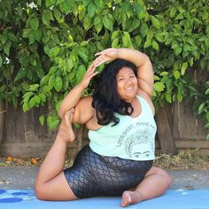 "Pin for Later: This Body-Positive Yogi Will Banish Your Perceptions About the Typical ""Yoga Body"""