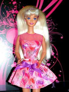 1996 valentine barbie special edition supermarket exclusive
