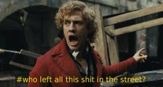 agirlfromanothertime: sassy-starkid: The Real Les Mis Captions I just turned this in as the last page of my term paper on barricades in revolutionary Paris. I can't tell if I've hit an all time academic low, or if this is the greatest day of my life/pinnacle of my career/beginning of my future. (I'm leaning toward the latter.) Really though, this image is the perfect essence of barricades and I cannot state it better. the fact that you turned this in to a teacher at a school means that i…