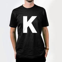 Image of K T-shirt sample @Kick Agency http://www.facebook.com/kickagency http://www.kickagency.com/gadget/
