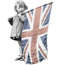 Image result for edwardian girl union jack