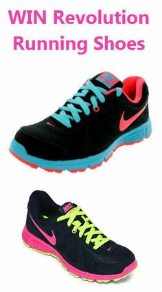 #Win a Pair of Revolution #Running #Shoes Today Only! #gym #active #contest