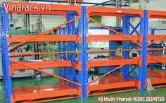 long span shelving - kệ trung tải: Kệ khuôn đúc hàn - tiện