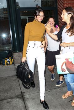 Kendall Jenner Makes Geek Chic Look Hot