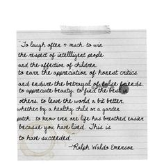 Ralph Waldo Emerson quotes, created by ricketts on Polyvore