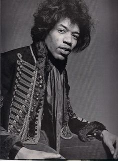 Jimi Hendrix, widely considered to be the best electric guitarist in history.