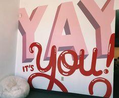 Alex Kleman (@artsyalexx) • Instagram photos and videos    #mural #handlettering #typography #goodtype #paint #design #handtype #thedailytype