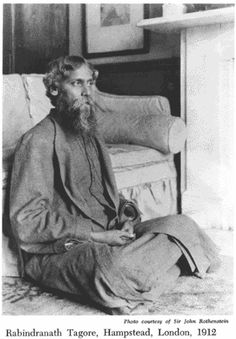 Rabindranath Tagore at Hampstead, England Rabindranath Tagore, Hermann Hesse, Rare Pictures, Rare Photos, Vintage Photos, Dalai Lama, 2000 Songs, Hippo Campus, Nobel Prize In Literature