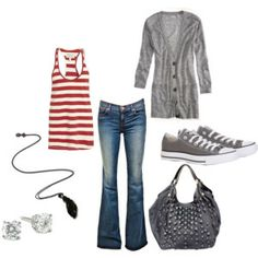 .two accessories I could never have enough of: cardigans and converse