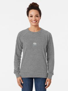 """Nasty Women For Hillary 2016 t-shirt"""" Lightweight Sweatshirt by . Woman T-shirts nasty woman 2016 t shirt Happy Woman Day, Happy Women, Vintage T-shirts, Pullover, Ladies Day, Slim Fit, Girl Boss, French Terry, Chiffon Tops"""