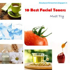 Beauty Care for Women: 10 Best DIY Facial Toners for Glowing Skin