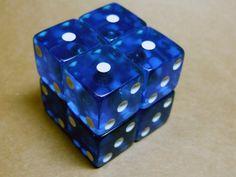 Cubo rubik magnético casero 2x2