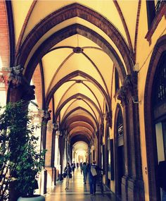 Bologna - Italy - Trafoodel Stroll the Porticoes