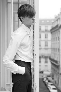 Robert Laby photographed by Baptiste Faure & Tim Grenard | OUD 3.36.1 Fall/Winter 2012/13 [ b ]