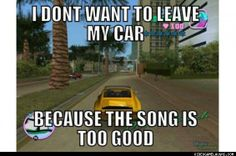 Grand Theft Auto Vice City Problems: Then there is me who just runs around every where looking for a motorcycle