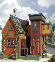 Wizard playhouse!