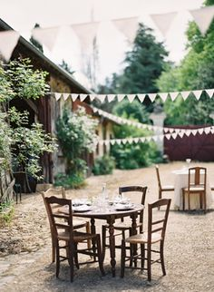 French Village Wedding Ideas - photo by Rylee Hitchner
