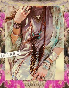 wild & free jewelry - huntress necklace