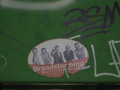 """Trainspotting"" - Street Art"