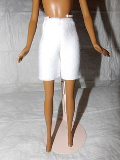 Fashion Doll Coordinates  White Fleece by KelleysKreationsLV